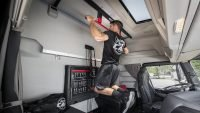 Gym in a truck concept unveiled