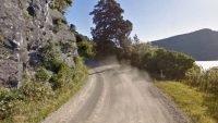 Wood derivative improves unsealed roads