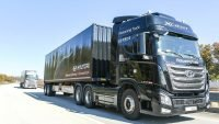 Hyundai puts platooning self-driving trucks to the test